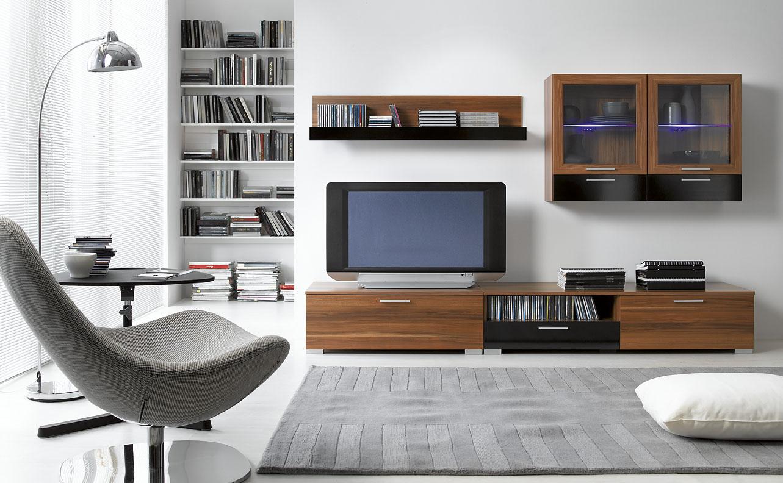 Nowoczesne meblościanki jako funkcjonalny element wyposażenia małego mieszkania